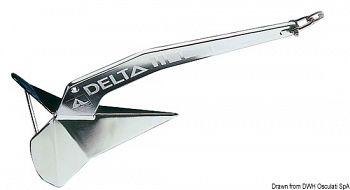 Ancora Delta inox 10 kg