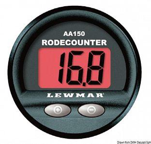 Contametri Lewmar AA150 (funzioni base)