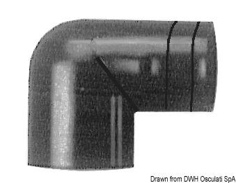Gomito 90° Whale 38 mm