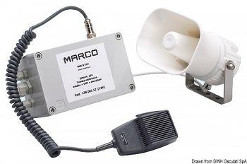 Tromba con fischio 112 dB 12 V