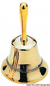 Campanello da tavola in ottone