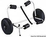 Kayak Trolley pieghevole