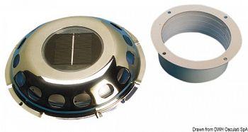 Aeratore con cella solare